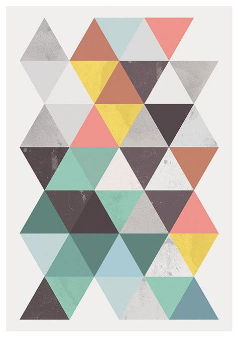 abstract poster scandinavian print mid best 25 abstract posters ideas on geometric