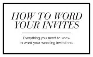 how to word wedding invitations wedding invitation wording sle verses by wedding paper