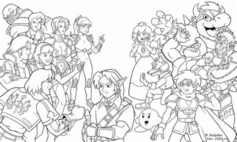 Super Smash Brothers Coloring Pages Free Printable Smash Bros Brawl Coloring Pages
