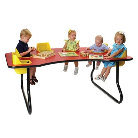 6 Seat Toddler Tables Lowest Price Factory Direct Infant Feeding Table