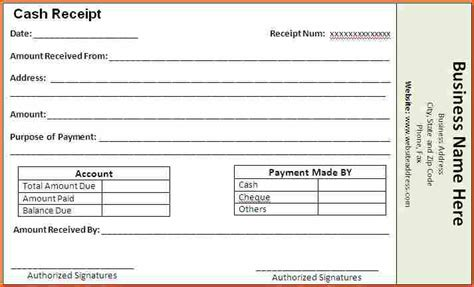 10 how to make a receipt budget template letter