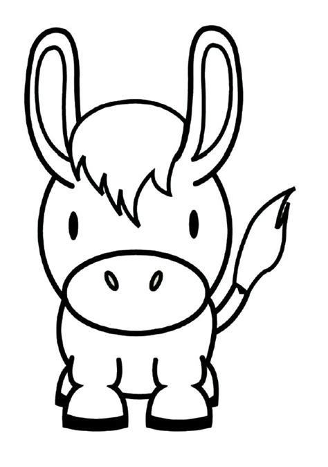 donkey face coloring page donkey face page coloring pages
