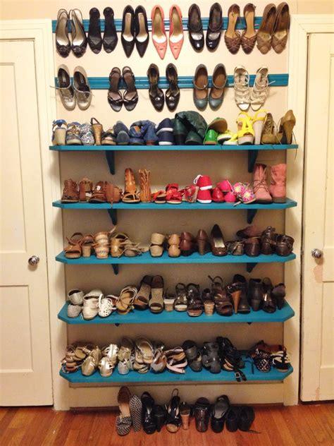 closet room shoe shelves my neck of the woods