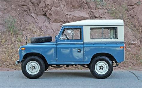 land rover series ii hemmings find of the day 1971 land rover series ii