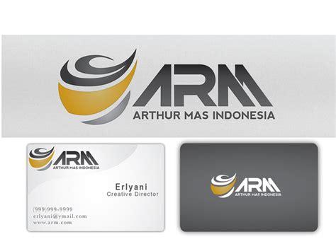 design logo perusahaan kontraktor sribu mining logo stationery designs service
