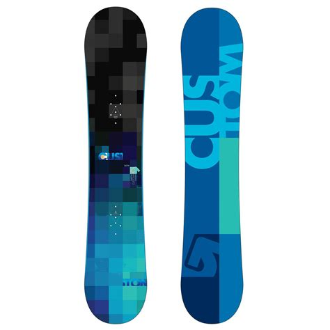 Handcrafted Snowboards - burton custom smalls wide v rocker snowboard youth 2011