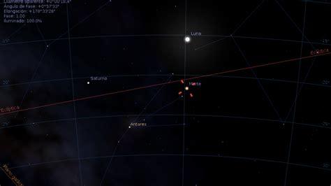 la oposicin de marte del 22 de mayo de 2016 astronoma astrociencias ecuador oposici 211 n de marte con luna llena