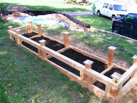 Raised Bed Vegetable Garden Layout 302 Found