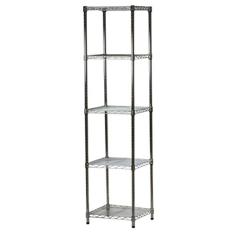 18 quot d x 18 quot w wire shelving unit with five shelves