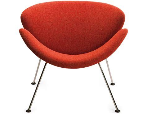 Slice Chair by Paulin Orange Slice Chair Hivemodern