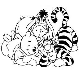 cute winnie pooh coloring pages womanmate