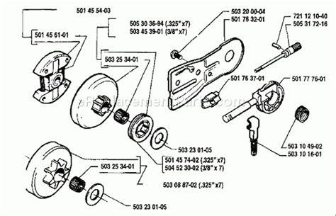 husqvarna 55 rancher parts diagram husqvarna 55 parts list and diagram 1990 01 with regard