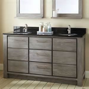 60 Sink Vanity Pictures 72 Quot Venica Teak Vessel Sinks Vanity Gray Wash