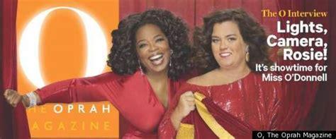 Rosie Says No To Oprah by Rosie O Donnell Talks Divorce Family In Oprah Magazine