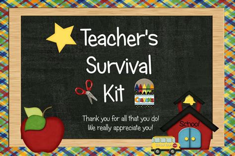 teacher s survival kit