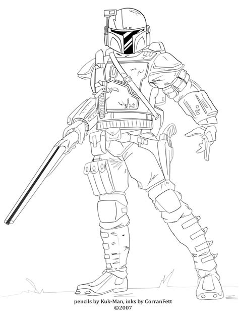 Mandalorian Coloring Pages Free Printable Mandalorian Mandalorian Coloring Pages