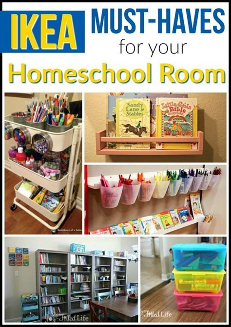 room must haves ikea must haves for your homeschool room homeschool room and school