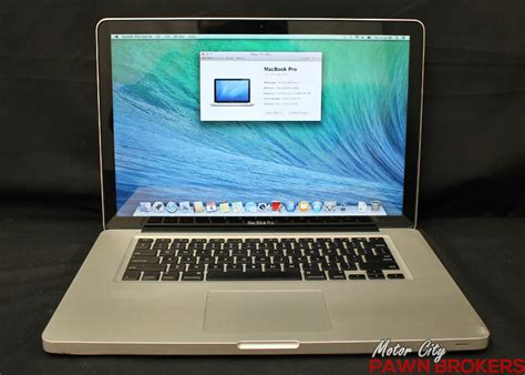 Macbook Pro A1286 apple macbook pro a1286 2011 15 4 quot 750gb intel i7 2