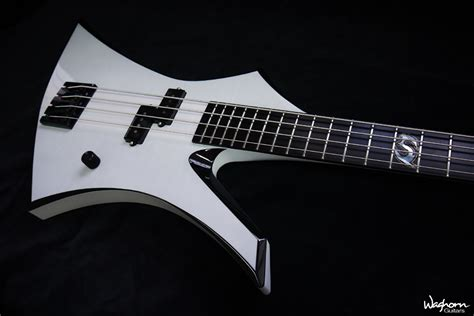 Handmade Bass Guitar - waghorn guitars custom bass guitars gallery