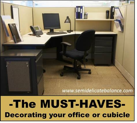 office desk must haves must haves in office cubicle decor