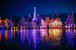 Duluth Light Show Bentleyville Tour Of Lights And Ice Skating At Bayfront