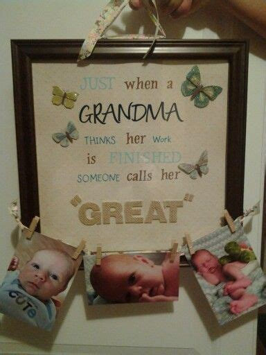 great grandma gift gifts pinterest gift crafts