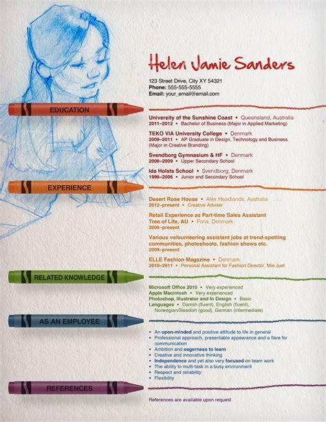 teacher resume templates creative 1 - Creative Teacher Resume Templates