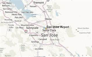 san jose location on map san jose airport weather station record historical