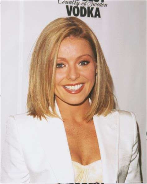 does kelly ripa have fine or thick hair kelly ripa hair