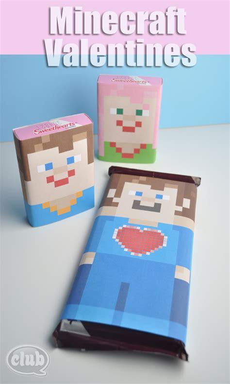 diy minecraft valentines 10 diy coolest kid valentine s day cards