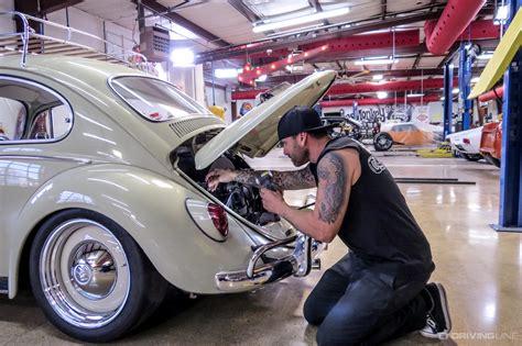 hot rod bug gas monkey garages  volkswagen beetle drivingline