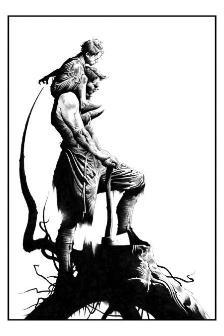 Jae Lee's Artwork From Stephen King's The Wind Through the