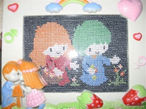 Kristik Family Pola Pada Kain 10374 kristik cross stitch my family my activity