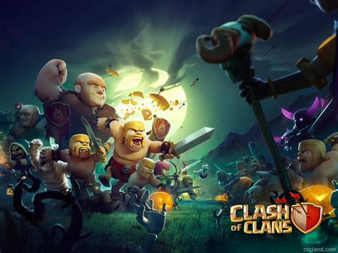 imagenes hd clash of clans clash of clans hd wallpapers clash of clans land