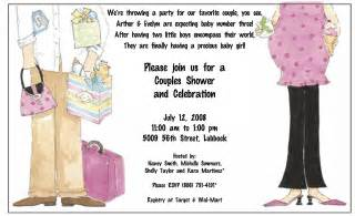 couples baby shower invitation wording memes