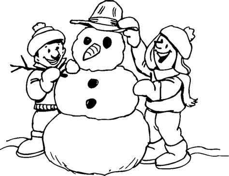 coloring page snowman snowman printable coloring pages fitfru style pictures