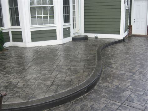 Cement Designs Patio Cement Sted Driveways Authentic Sted Concrete Can Make Your Home Improvement