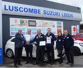 Luscombe Suzuki Leeds Luscombe Suzuki Leeds Hailed As Uk S Dementia Aware