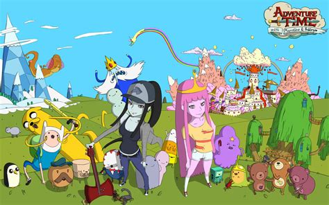 wallpaper anime adventure time wallpapers adventure time multi anime anigamers com