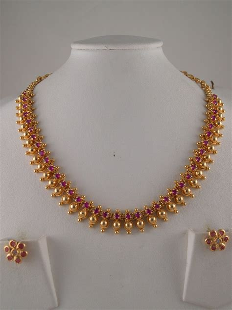 How To Buy Gold Jewelry 2 by 1gm Gold Jewelry Necklace Sets