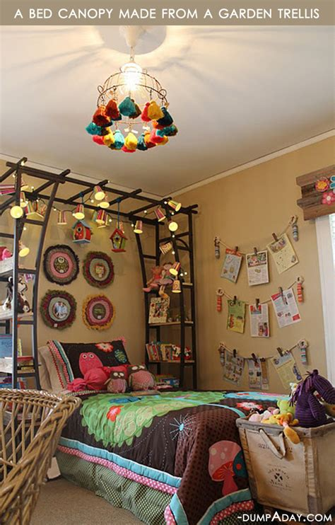 amazing easy diy home decor ideas bed canopy dump a day