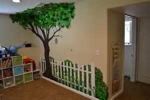 artwork writings and recipes of christine walter preschool wall murals daycare murals playroom mural
