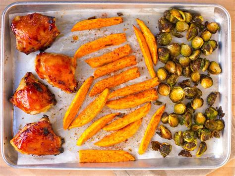 sheet pan dinner ideas food network weeknight dinners