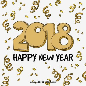 new year font style vector font print vector free