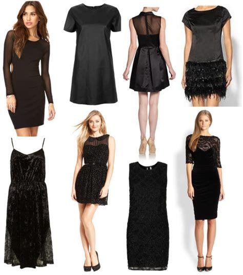 new years black dress plain black dress new look images