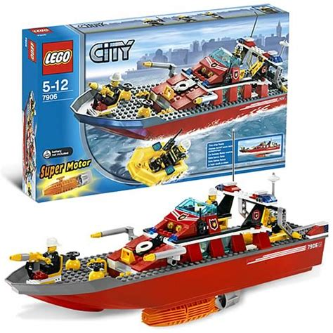 fire boat construction lego 7906 city fire boat lego lego city construction