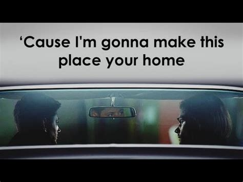 cause i m gonna make this place your home dedication