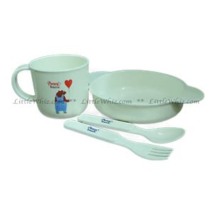 Richell Baby Food Container With Spoon Wadah Makan Bayi 7 bowls cutlery