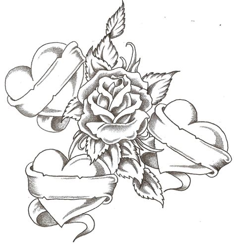 drawing themes download drawing roses and hearts drawing of hearts free download