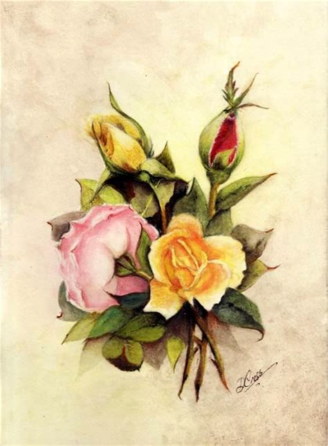 tutorial on using watercolor pencils water color pencil roses tutorial step by step art